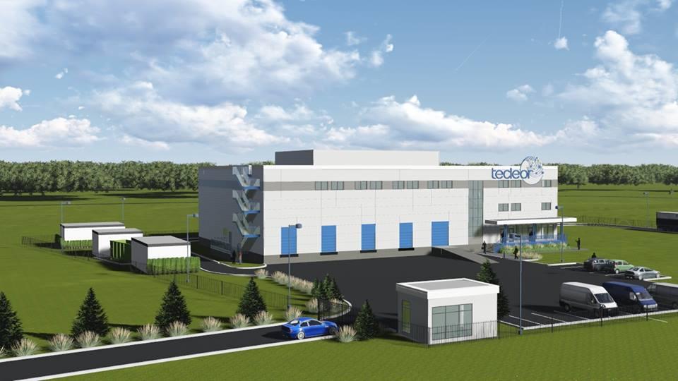 Макет центра разработки и внедрения технологий обработки продукции ускоренными электронами компании «Теклеор»