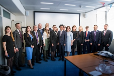 Visit of the delegation of the Agency for strategic initiatives (ASI) to Austria (Vienna)